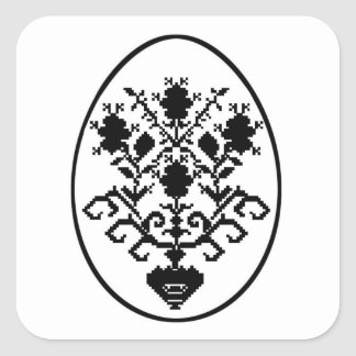 Happy Easter! Square Sticker