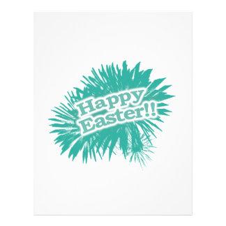 Happy Easter Theme Design Letterhead