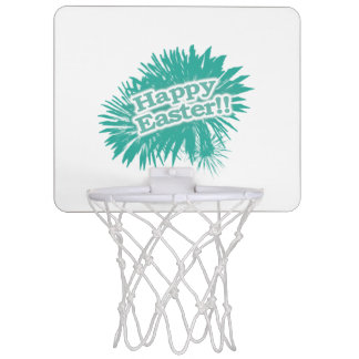 Happy Easter Theme Design Mini Basketball Hoop