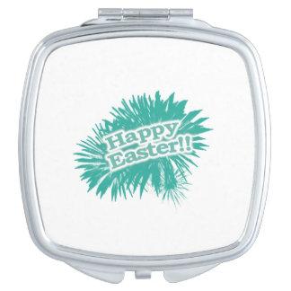 Happy Easter Theme Design Vanity Mirror