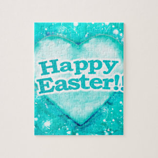 Happy Easter Theme Graphic Jigsaw Puzzle