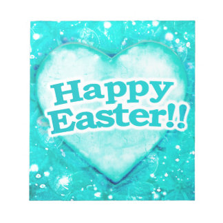 Happy Easter Theme Graphic Notepad