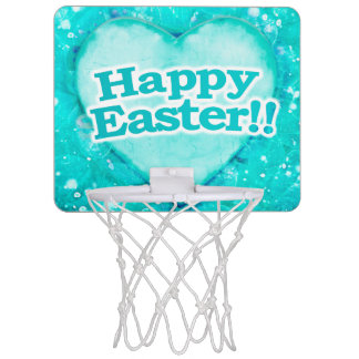 Happy Easter Theme Mini Basketball Hoop