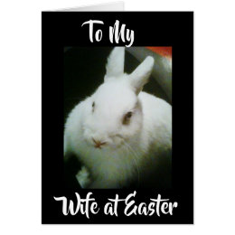 Happy easter to wife gifts on zazzle ca happy easter to my wife u mean the negle Images