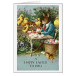 Happy Easter!  Victorian Easter Greeting Card