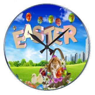 Happy Easter Wallclock