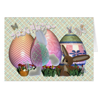 Happy Easter Welsh Language Card, Pasg Hapus Card