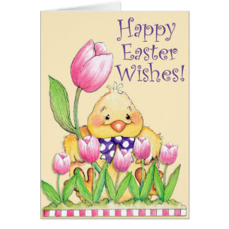 Happy Easter Wishes - Greeting Card
