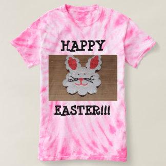 Happy Easter Women's Cyclone Tie-Dye T-Shirt