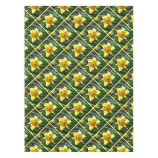 Happy Easter! Yellow Daffodil Tablecloth