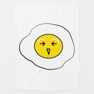 Happy egg baby blanket