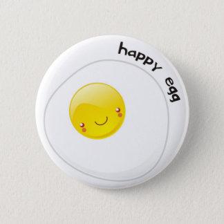 Happy Egg Buttom 2 Inch Round Button