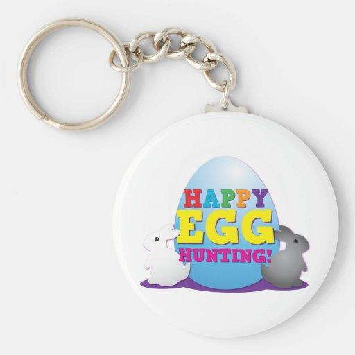 Happy EGG hunting! Keychain