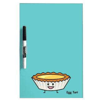 Happy Egg Tart Dry-Erase Whiteboards
