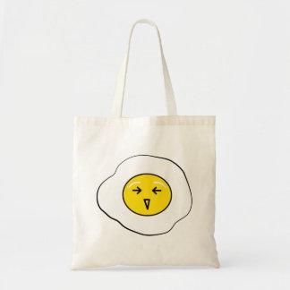 Happy egg tote bag
