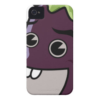 Happy Eggplant Case-Mate iPhone 4 Cases