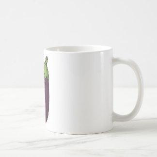 Happy Eggplant Coffee Mug