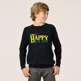 Happy Eid Day  Apparel Raglan Sweatshirt