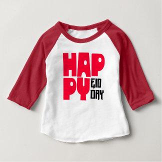 Happy Eid Day Baby American Apparel 3/4 Sleeve Rag Baby T-Shirt