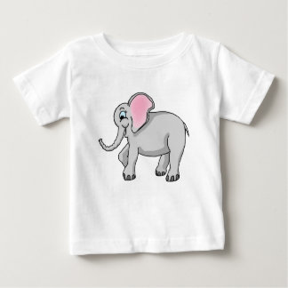 Happy Elephant Baby Fine Jersey T-Shirt