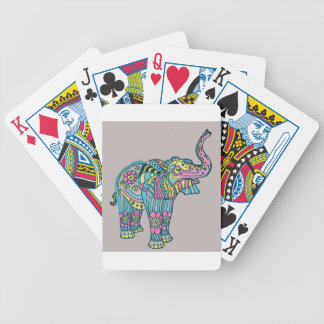 Happy Elephant Bicycle Playing Cards