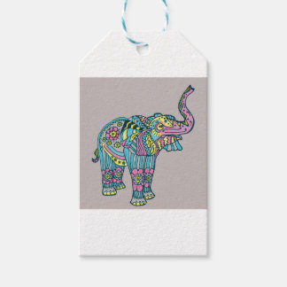 Happy Elephant Gift Tags
