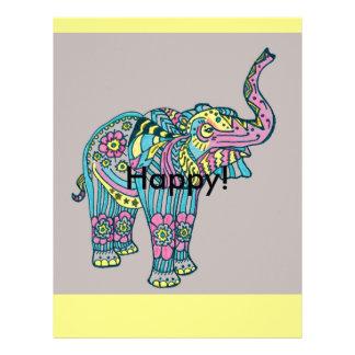 Happy Elephant Letterhead