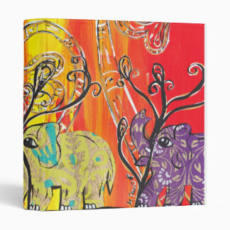 Happy Elephant Parade Binder