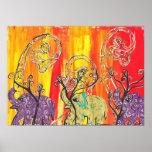 Happy Elephant Parade Print