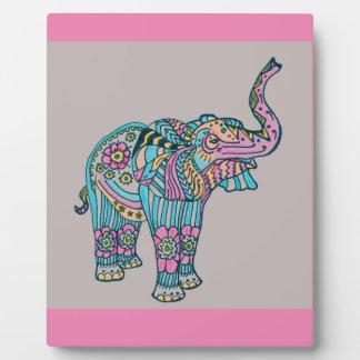 Happy Elephant Plaque