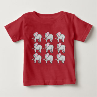 Happy Elephants Baby Fine Jersey T-Shirt