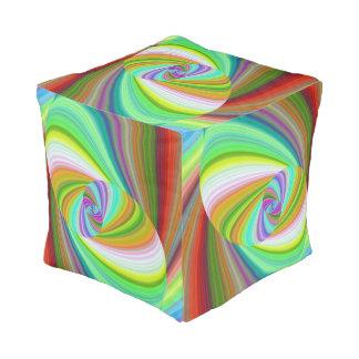 Happy ellipse magic pouf