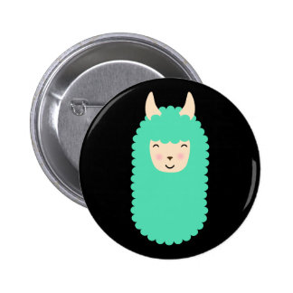 Happy Emoji Llama Button