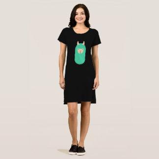 Happy Emoji Llama Dress