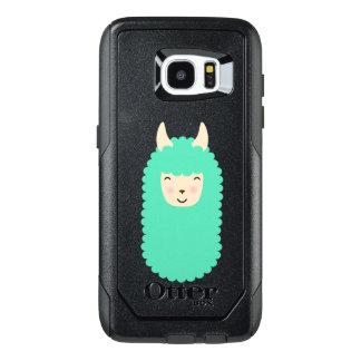 Happy Emoji Llama OtterBox Samsung Galaxy S7 Edge Case