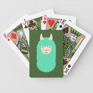 Happy Emoji Llama Poker Deck