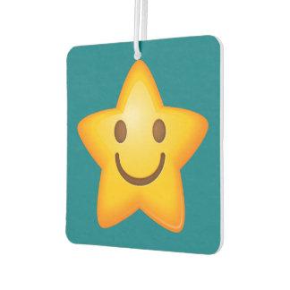 Happy Emoji Star Air Freshener