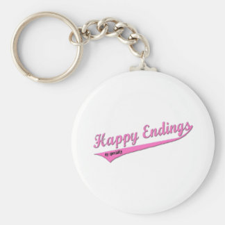 Happy Endings My Speciality Basic Round Button Keychain
