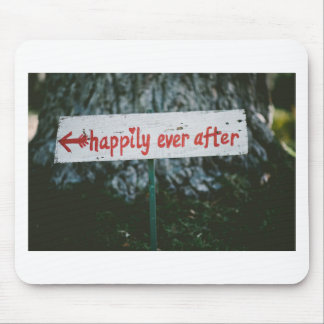 Happy ever after mouse pad