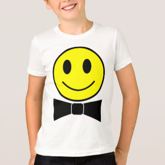Happy Face Bow Tie shirt