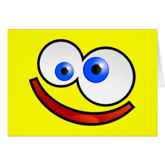 Happy Face Card