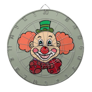 Happy Face Clown Dartboard
