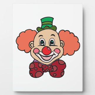 Happy Face Clown Plaque