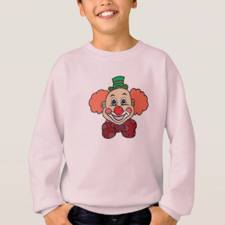 Happy Face Clown Sweatshirt