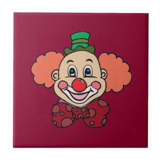 Happy Face Clown Tile