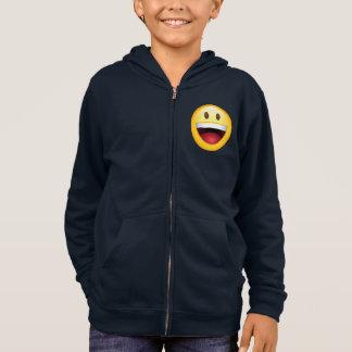 Happy Face Emoticon Hoodie