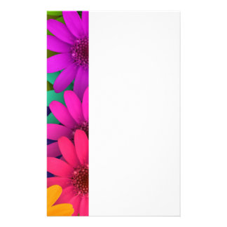 Happy face Flower Stationery