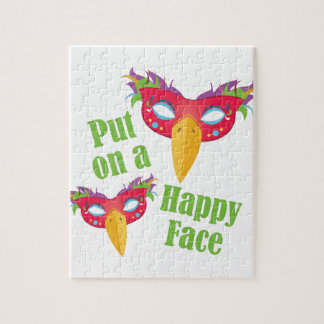 Happy Face Jigsaw Puzzle