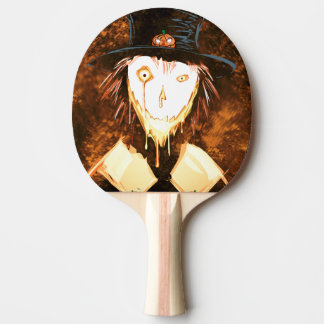 Happy Face Jim Ping Pong Paddle