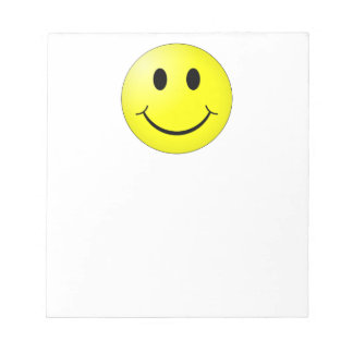 Happy Face Notepad